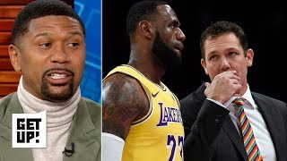 LeBron doesn't have respect for Luke Walton – Jalen Rose | Get Up!