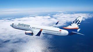 Take Off | AYT (Antalya Airport) Runway 36C | Boeing B737-800 SunExpress