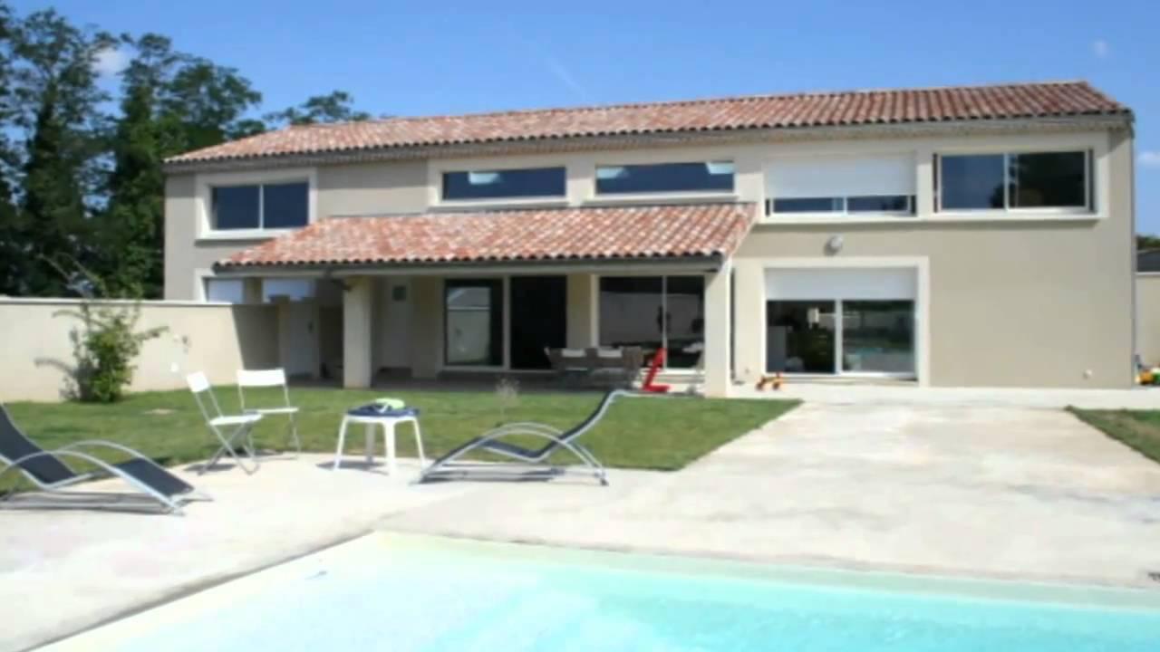 Valence maison villa jardin piscine terrain clos ville for Piscine jardin youtube