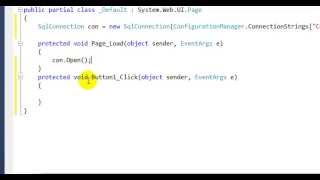 How to Insert data into database in asp net