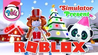 New year in ROBLOKS. OPEN GIFTS. Simulator/ROBLOX SIMULATOR PRESENT