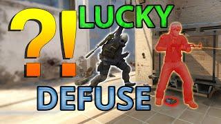 LUCKY DEFUSE #1 (CS:GO)