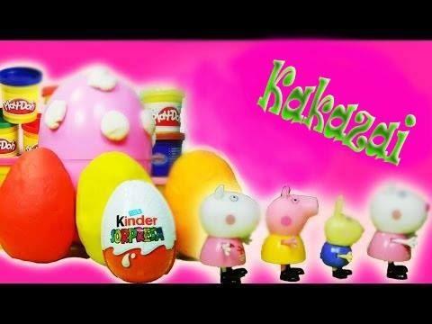 Peppa pig play doh magic funny KAKAZAI