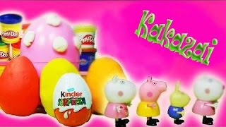Peppa pig play doh magic funny KAKAZAI