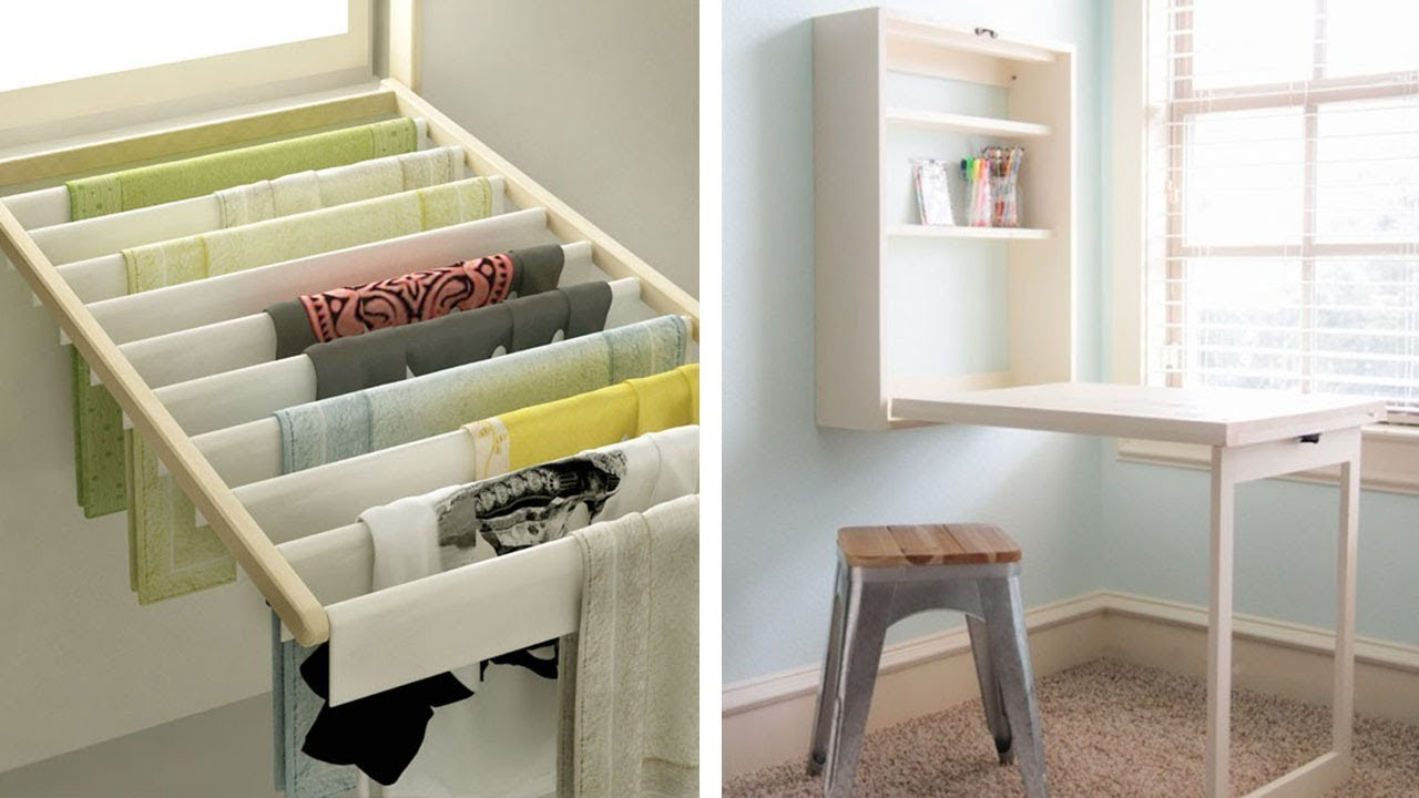 21 Space Saving Ideas For Your Studio Apartments Youtube
