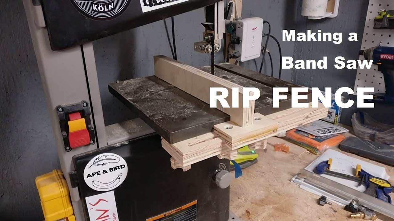 Build: Making a rip fence for a band saw