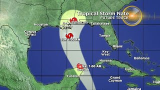 Tracking Tropical Storm Nate 10/5