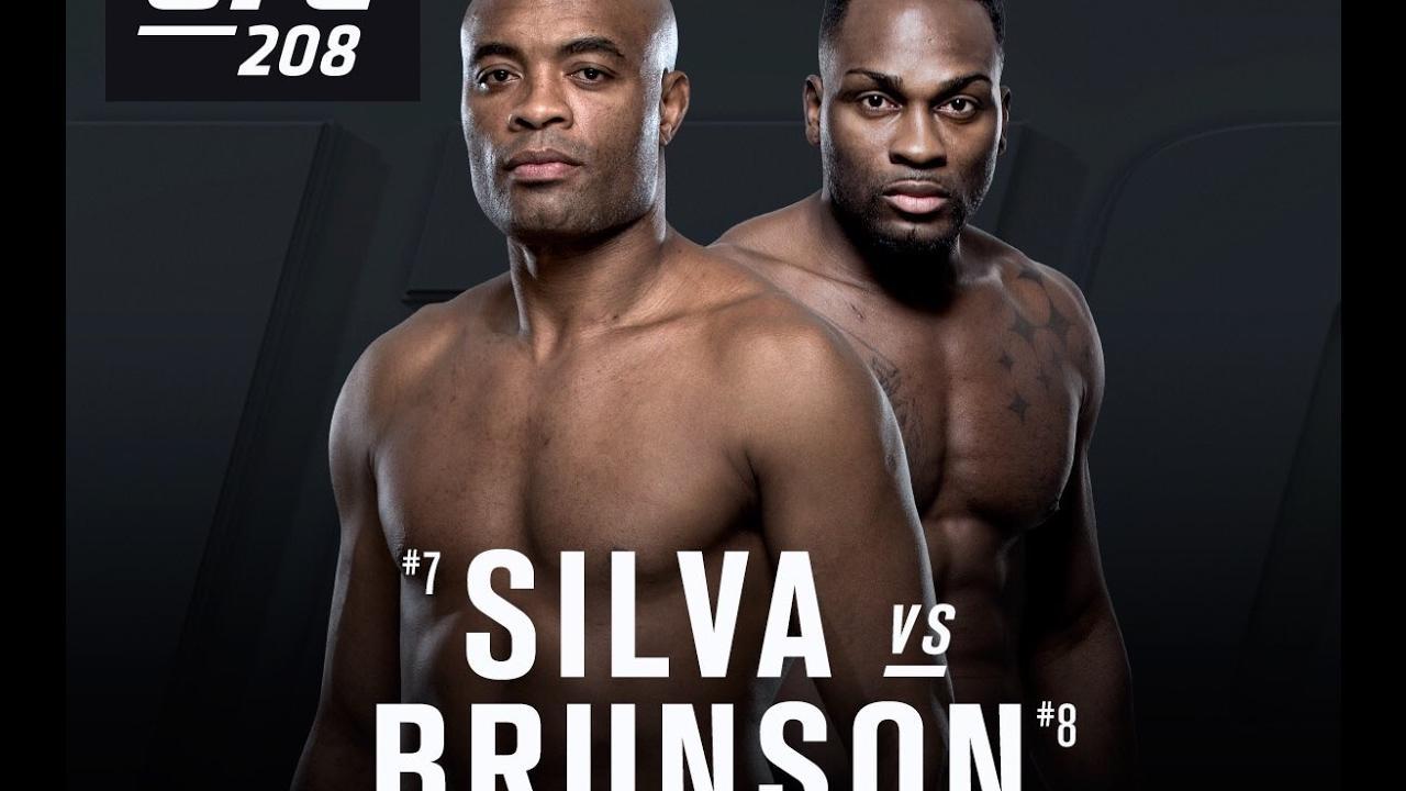 Ufc 208 Anderson Silva Vs Derek Brunson Fight Highlights Youtube