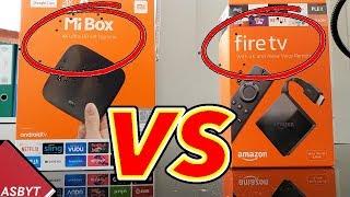 XIAOMI MI BOX vs NEW FIRE TV 3RD GEN!
