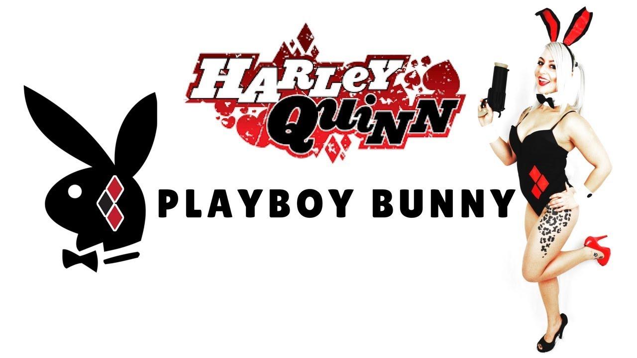 Playboy bunny harley quinn costume tutorial youtube playboy bunny harley quinn costume tutorial voltagebd Images