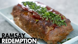 Can A MasterChef Contestant Turn a Burn by Gordon into a Gourmet Meatloaf? | Ramsay Redemption