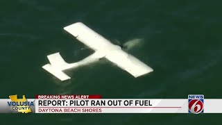 Pilot rescued from small plane crash in the ocean