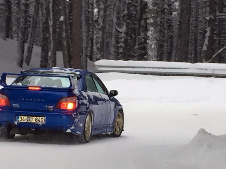 Subaru Impreza Wrx Sti Snow Drift Ats Oto Youtube