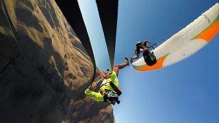 GoPro: Paraglide Rope Swing With Matthias Giraud