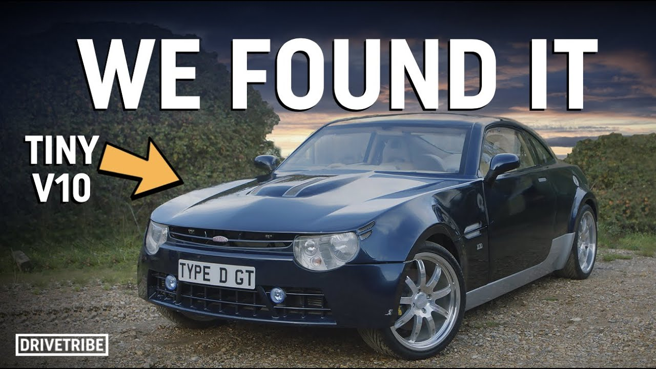 We found the lost 2.0-litre V10 sportscar!