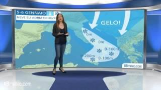 Meteo Italia: lEpifania porta gelo e neve