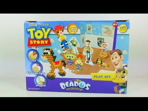 Juego buzz y woody de Toy Story 4 beados - videos de juguetes en español -  YouTube 319702a3586