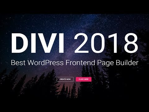 How to Make a WordPress Website 2018 - Divi Tutorial