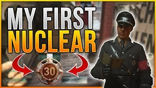 Call of Duty WW2 - MY FIRST NUKE! (CoD WW2 NUCLEAR/VICIOUS MEDAL Gameplay)