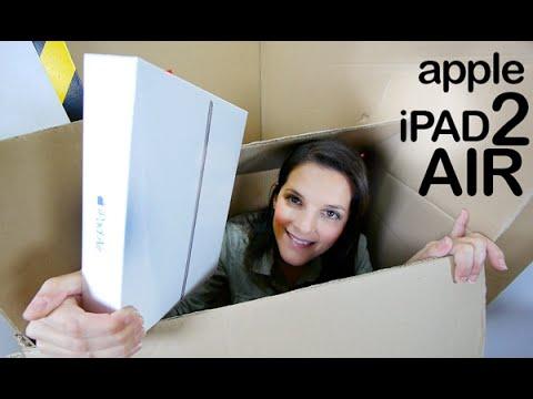 Apple iPad Air 2 unboxing en español