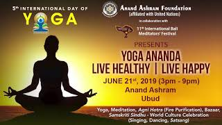 YOGA ANANDA - LIVE HEALTHY | LIVE HAPPY