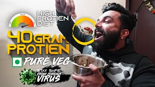 HOMEMADE HIGH PROTIEN DIET | PANGHAL FITNESS