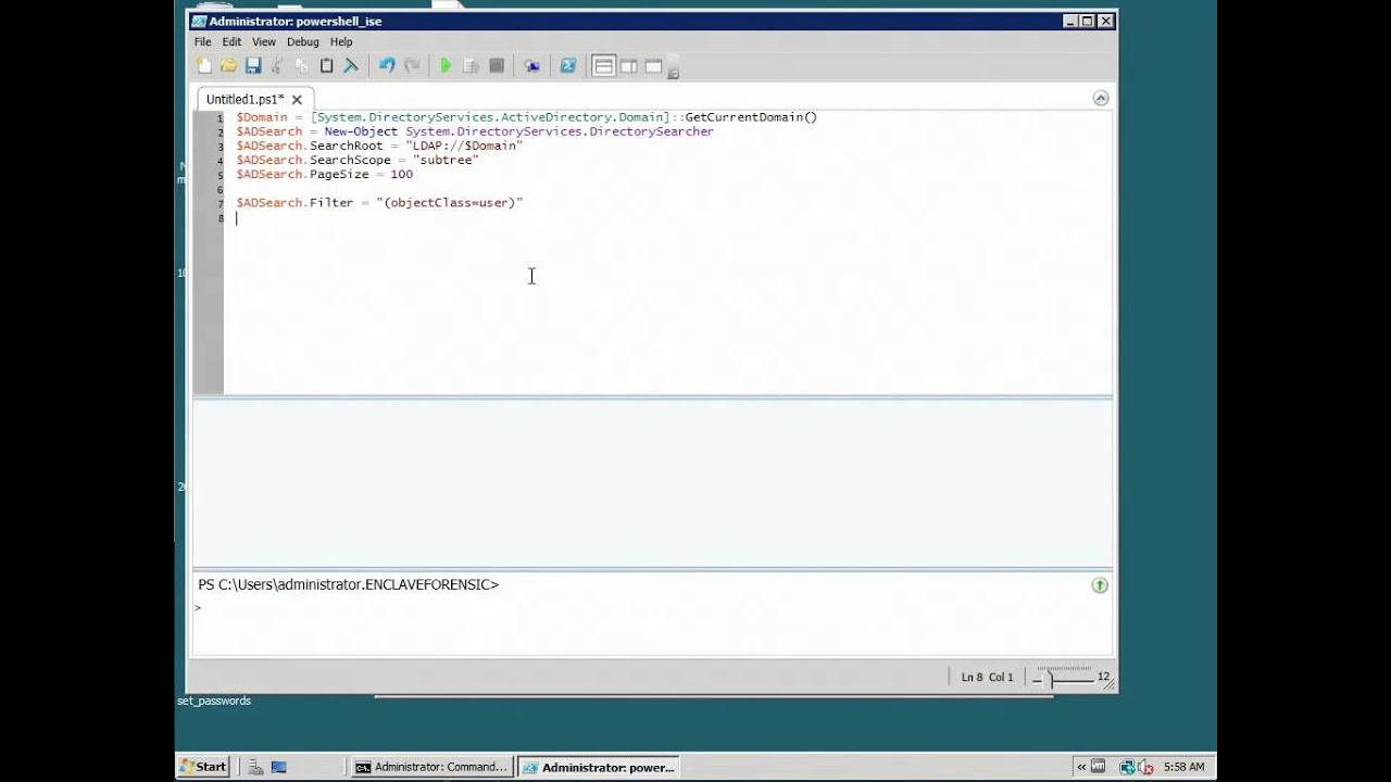 Extracting Last Logon Time from Active Directory using Powershell mov