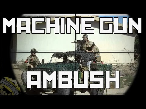 Milsim West The Kazakh Offensive Part 2: Machine Gun Ambush (Echo 1 Red Star Covert)