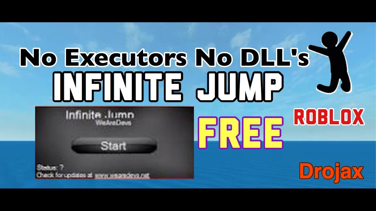 (EXPLOIT) HOW TO INFINITE JUMP THE EASIEST WAY ON ROBLOX
