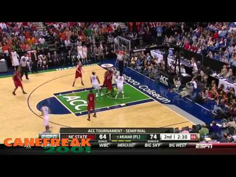 Miami Basketball 2013 ACC Tournament Champions - ACC Sweep