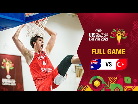 Australia v Turkey   Full Game - FIBA U19 Basketball World Cup 2021