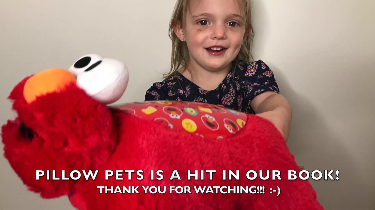 Elmo Sleeptime Lites Pillow Pet Review