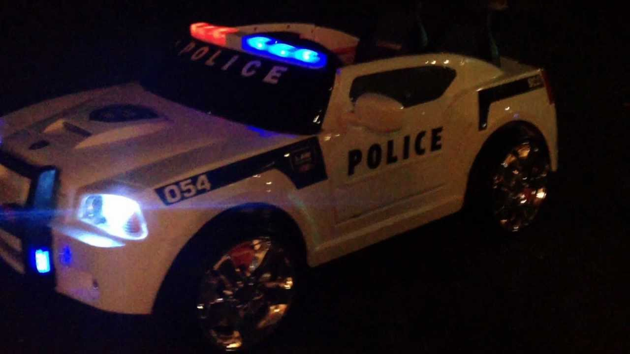 Dodge Charger Police Car >> Modified Power Wheel Dodge Charger Police Cruiser - YouTube