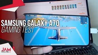 Samsung Galaxy A70 Gaming Test (PUBG, NBA 2k19, Antutu & Talion)