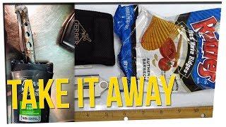 Most Interesting Items Taken by TSA in 2017 ft. Steve Greene