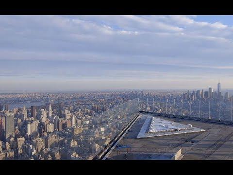 Hudson Yards observation deck under construction