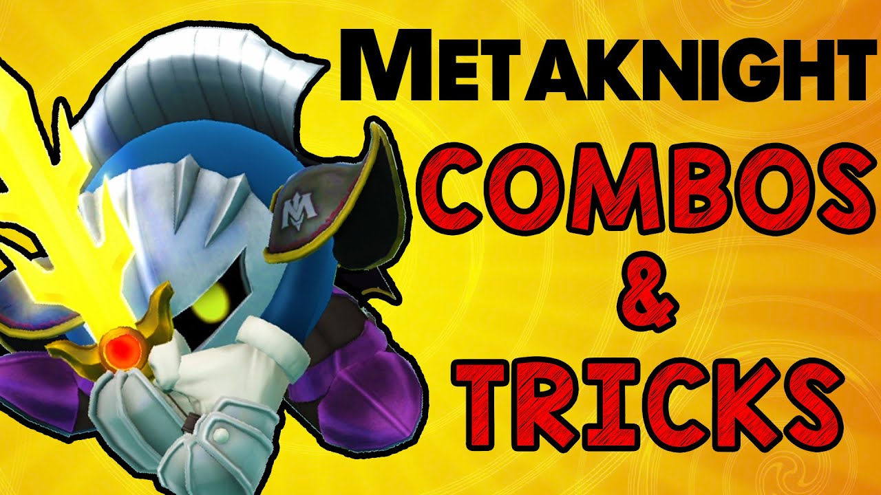 Metaknight Combos & Tricks! (Smash Wii U/3DS)