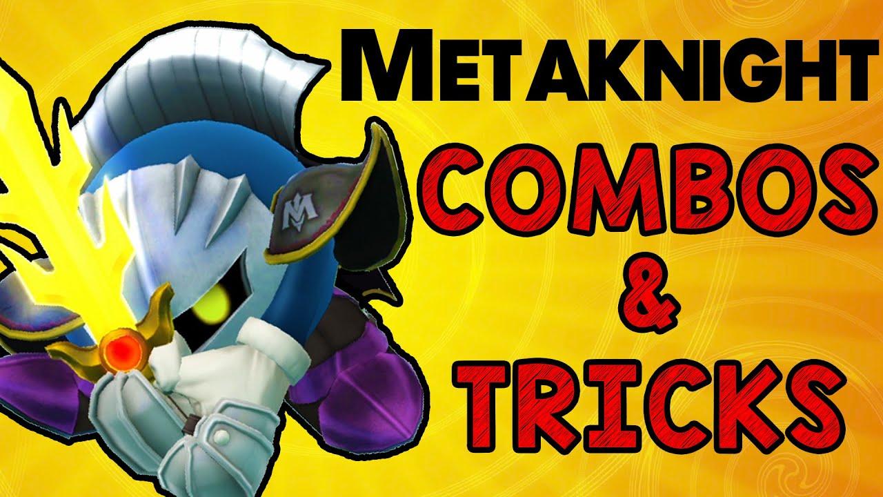 Metaknight Combos & Tricks! (Smash Wii U/3DS)