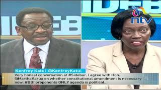 BBI Report: Top lawyers, Senator Orengo and Martha Karua, enlighten Kenyans