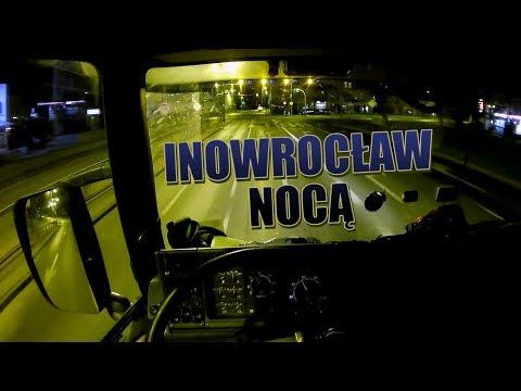 Na drogach - Inowrocław nocą