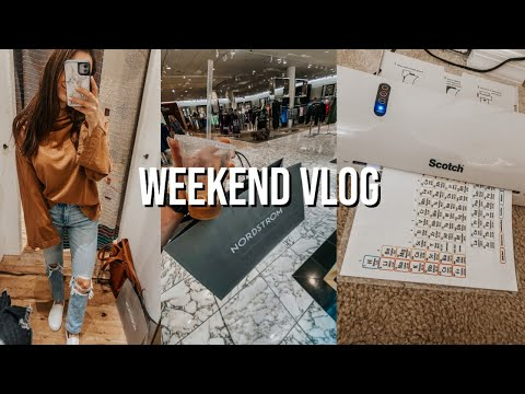 weekend-vlog:-shopping,-chemistry-homework,-cooking-dinner