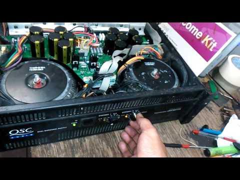 RMX5050  professional power amplifier test