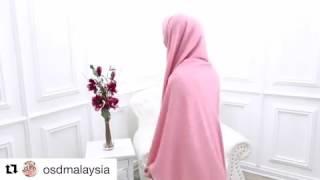 OKI SETIANA DEWI tutorial jilbab syar'i segi empat/ 07 maret 2017