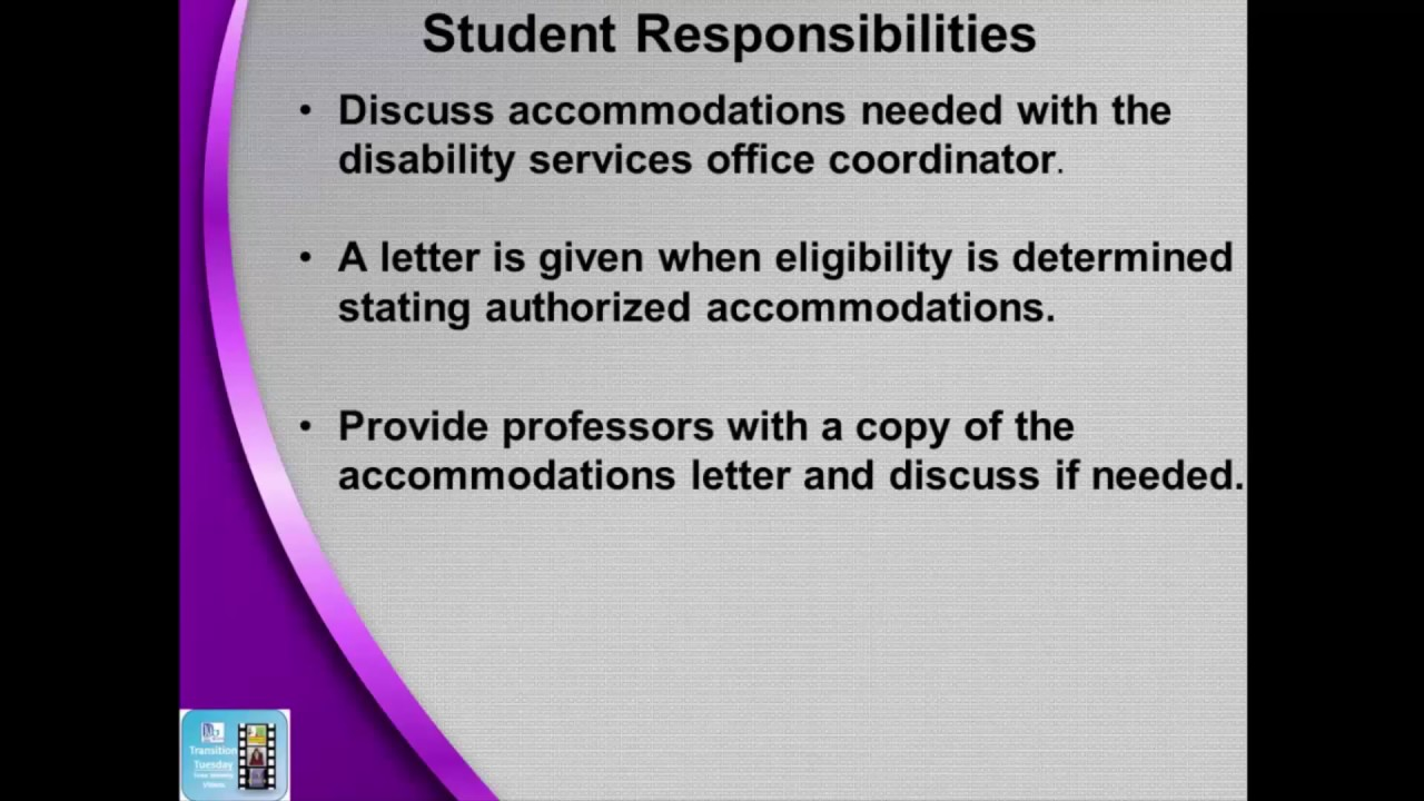 Special Education Accommodations >> College Accommodations For Special Education Students Episode 60 Of