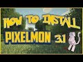 How To Install Minecraft Pixelmon 3.4 [1.7.10] [Forge] TUTORIAL ...