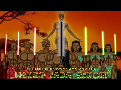 Nguzo Saba Askari - The Legend of Kwanzaa