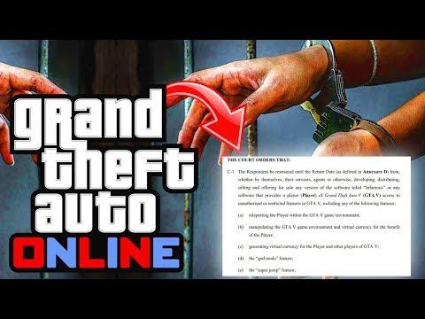 GTA Online: Rockstar ARREST WARRANT For GTA 5 Modders! Lawsuit Against Modders! (GTA 5 Online DLC)