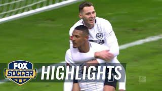 Video Gol Pertandingan Eintracht Frankfurt vs Borussia Monchengladbach