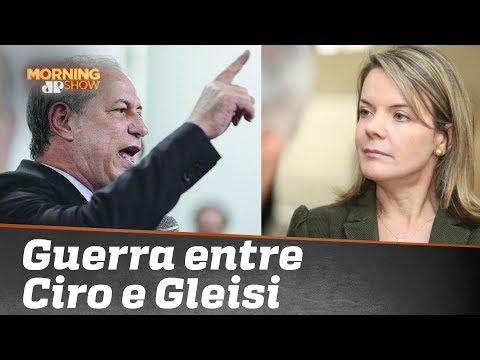 Você não pode perder a guerra entre Ciro Gomes e Gleisi Hoffmann