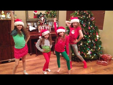 Haschak Sisters | Zendaya - Shake Santa Shake | #Christmas2014